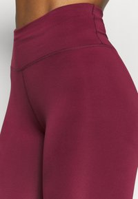 Nike Performance - ONE 7/8  - Leggings - dark beetroot - 5