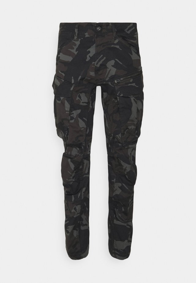 ROVIC ZIP 3D STRAIGHT TAPERED - Cargo trousers - night dutch