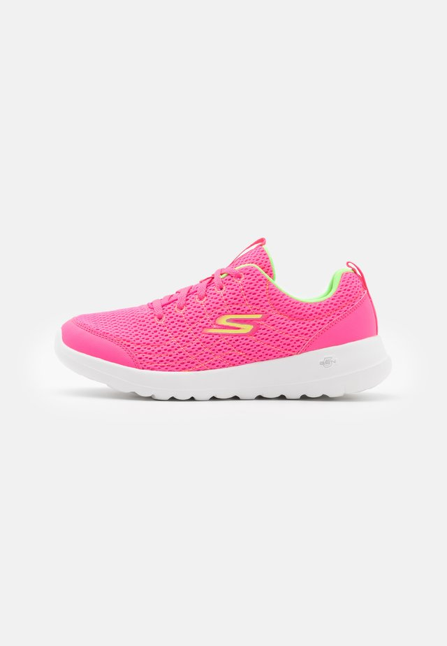 GO WALK JOY EASY BREEZE - Sportieve wandelschoenen - hot pink/lime