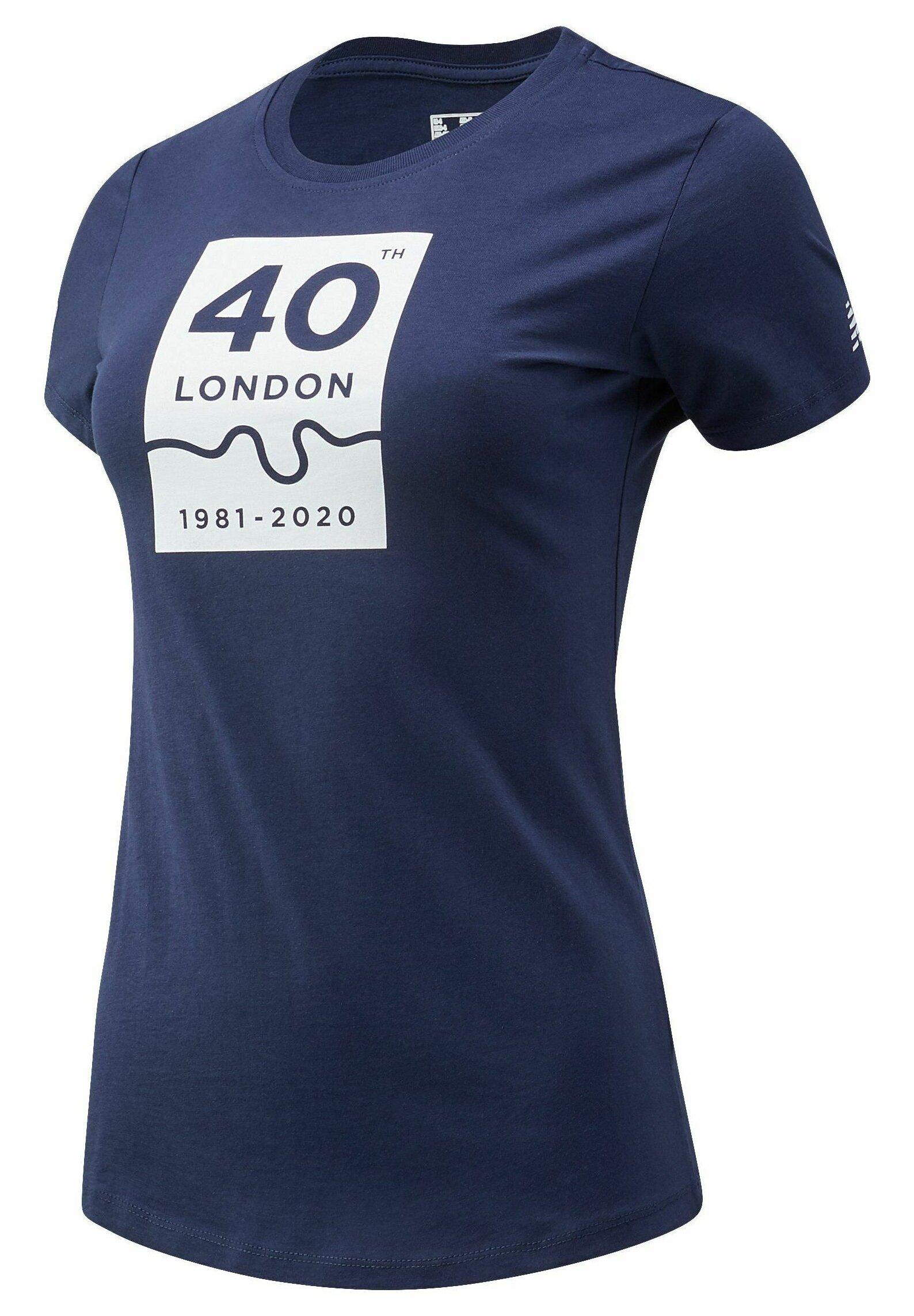 Damen LONDON EDITION 40TH MAP - T-Shirt print