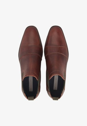 CHELSEA - Classic ankle boots - dunkelbraun