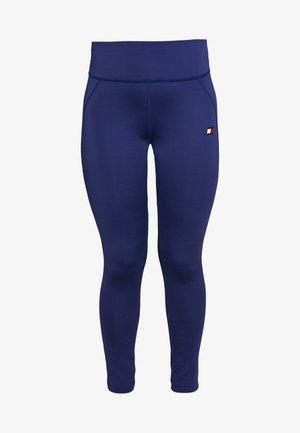 BUTT LIFT LEGGING - Leggings - blue