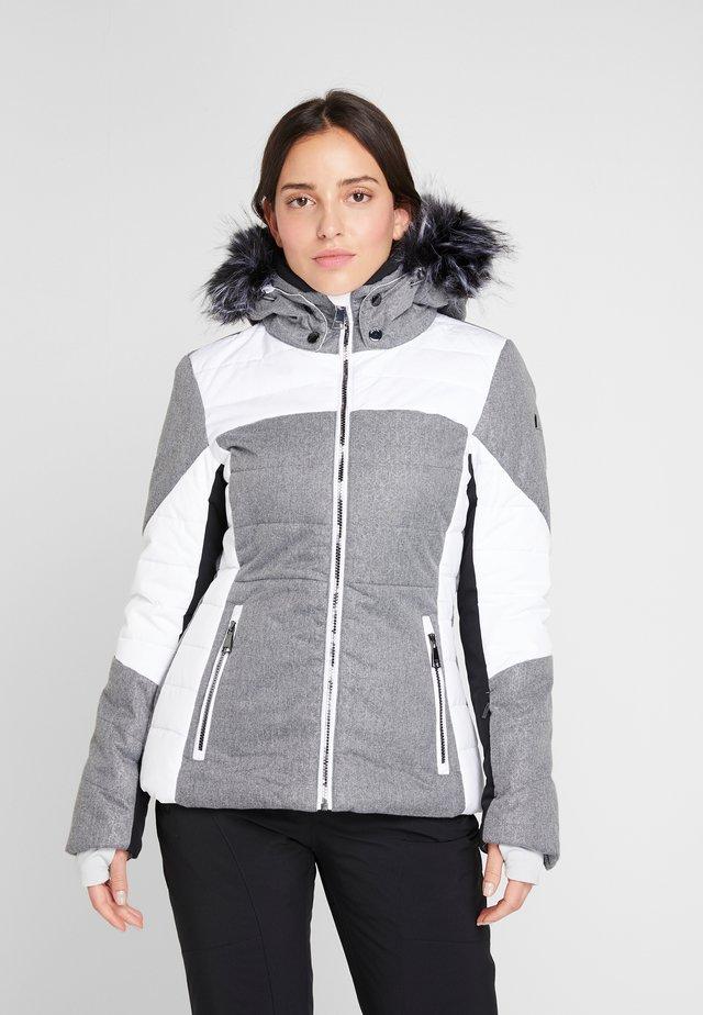 IVASKA  - Snowboard jacket - light grey/white