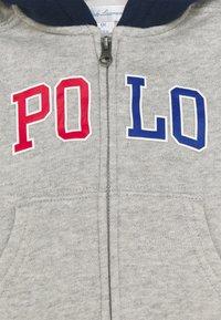 Polo Ralph Lauren - HOOD - Zip-up hoodie - andover heather - 2