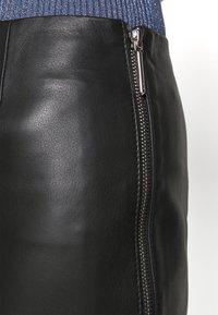 HUGO - LOMIAS - Mini skirt - black - 5
