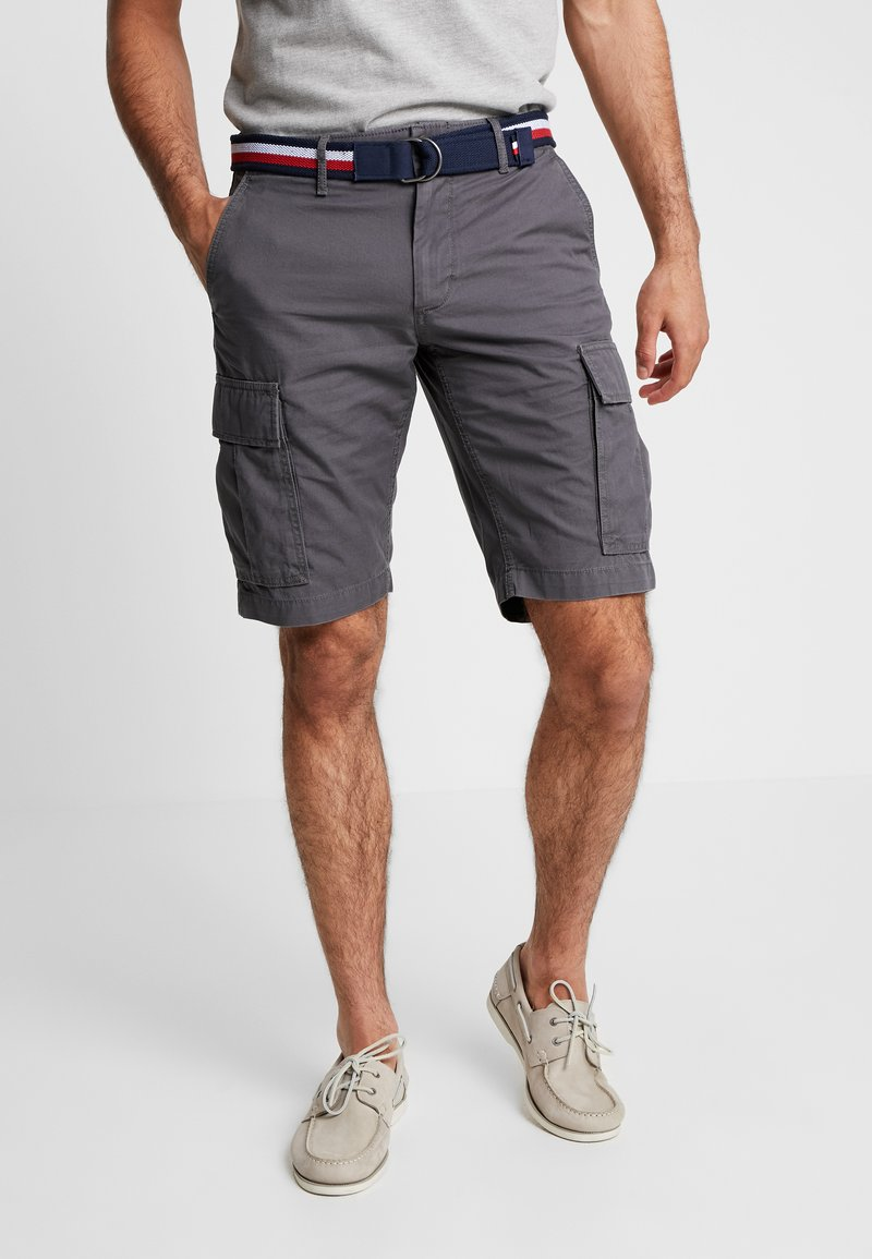 Tommy Hilfiger - JOHN BELT - Shorts - grey