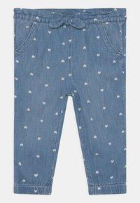 GAP - TODDLER GIRL  - Relaxed fit jeans - blue denim - 0