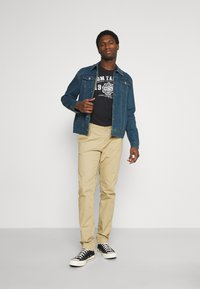 Solid - SDPEYTON - Denim jacket - dark vintage blue denim - 1