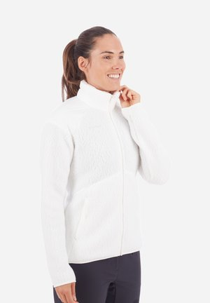 INNOMINATA PRO - Fleece jacket - bright white
