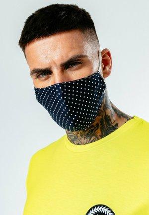 Masque en tissu - navy white