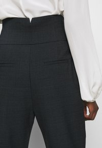 Pinko - JOSEPH TROUSERS - Trousers - dark grey - 4