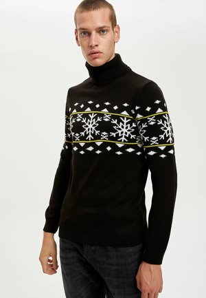 NEW YEAR - Jumper - black