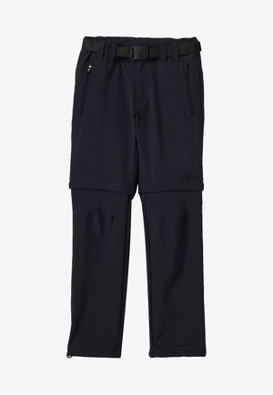 BOY ZIP OFF 2-IN-1 - Outdoor trousers - antracite