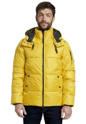 HEAVY PUFFER - Winter jacket - californian yellow