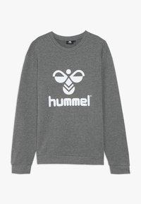 Hummel - DOS UNISEX - Sweatshirts - medium melange - 0