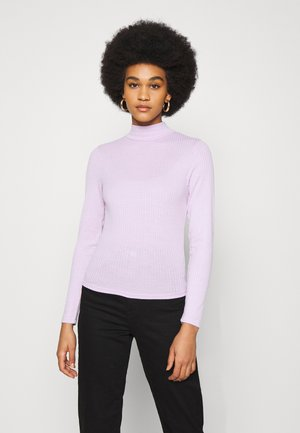 MILA MOCK NECK LONG SLEEVE - Long sleeved top - forsty lilac marle