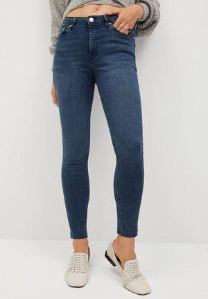 Skinny džíny - diep donkerblauw