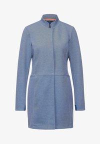 Street One - MIT PIQUÉ - Short coat - blau - 3