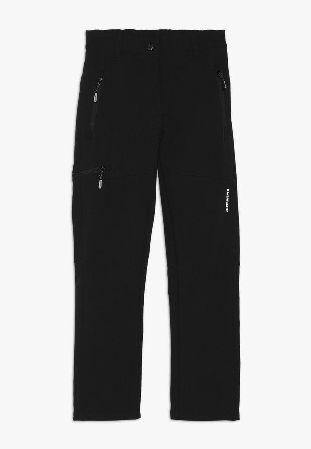 KERMAN  - Pantalons outdoor - black