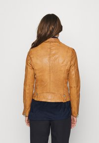 Gipsy - Leather jacket - camel - 2