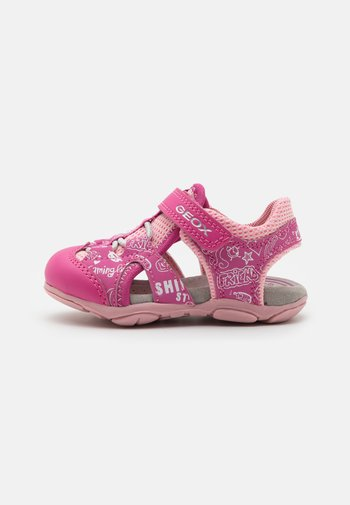AGASIM GIRL - Walking sandals - fuchsia/pink