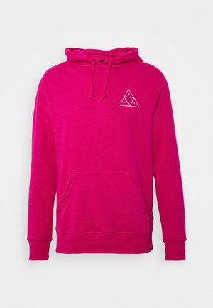 ESSENTIALS HOODIE - Mikina s kapucí - hot pink