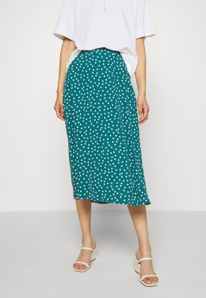 JUNO SKIRT DOMINO DOT - Áčková sukně - antique green