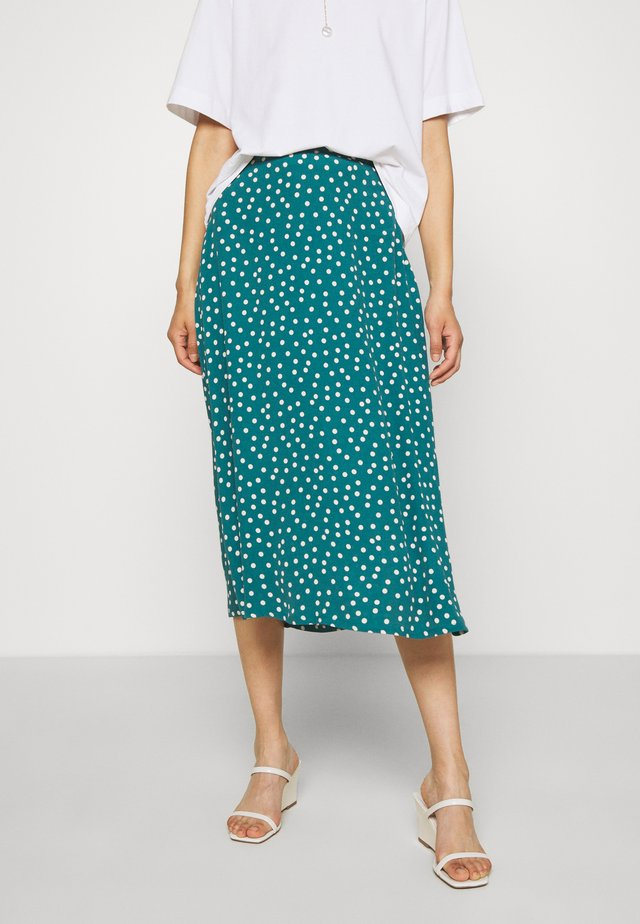 JUNO SKIRT DOMINO DOT - A-lijn rok - antique green