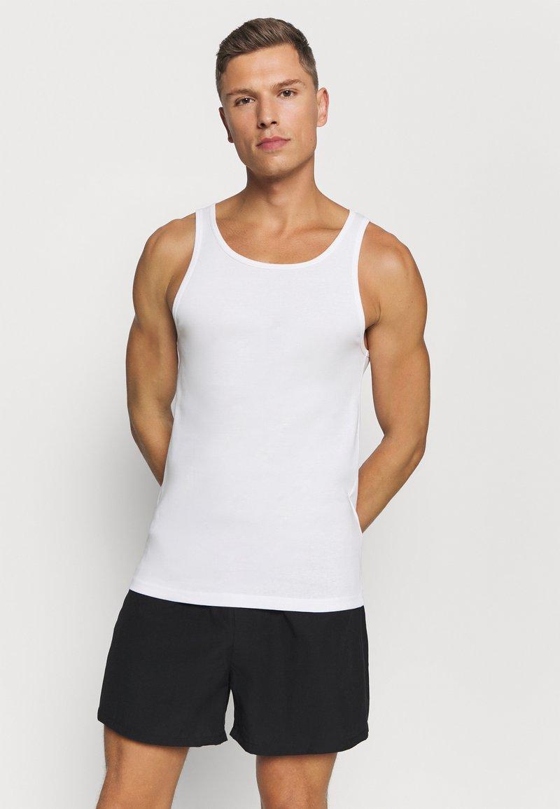 Pier One - 5 PACK - Undershirt - white
