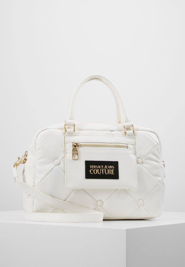 Versace Jeans Couture - COUCH HANDBAG - Torebka - bianco ottico