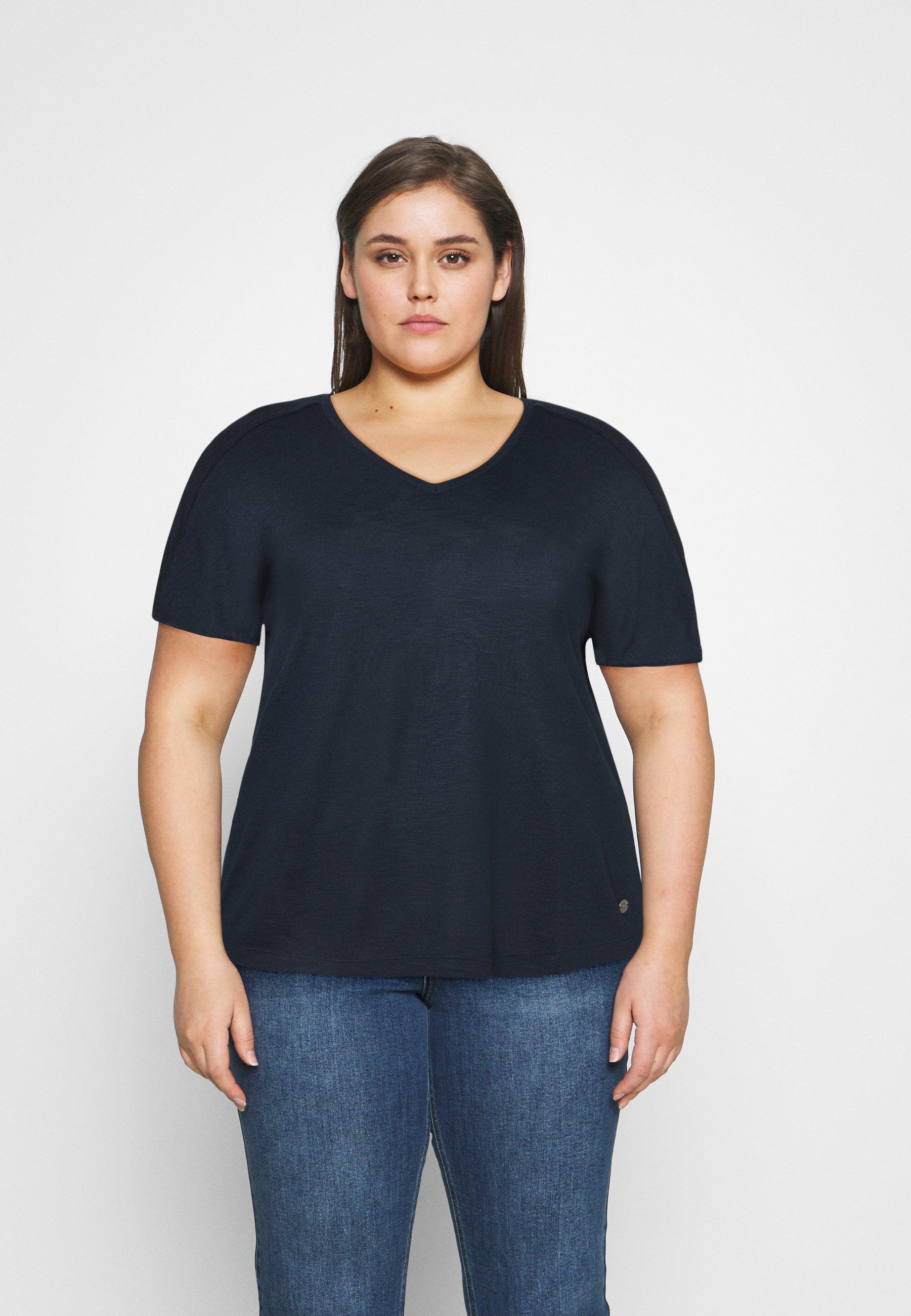 Women OVERCUT SLEEVES - Basic T-shirt