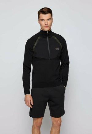 Sweatshirt - black