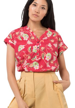 PARADISE - Blouse - tulip red all over