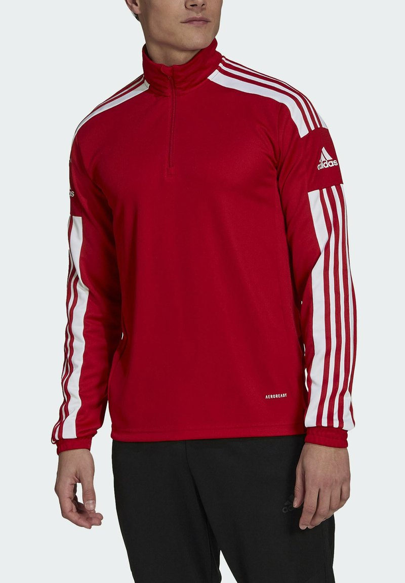 adidas Performance - SQUADRA 21 TRAINING OBERTEIL - Träningsjacka - red