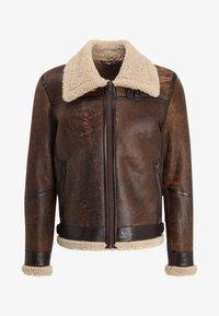 Goosecraft - LAMMY - Kožená bunda - brown - 6