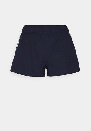 2 IN 1 - Sports shorts - navy blue/elf pink/white