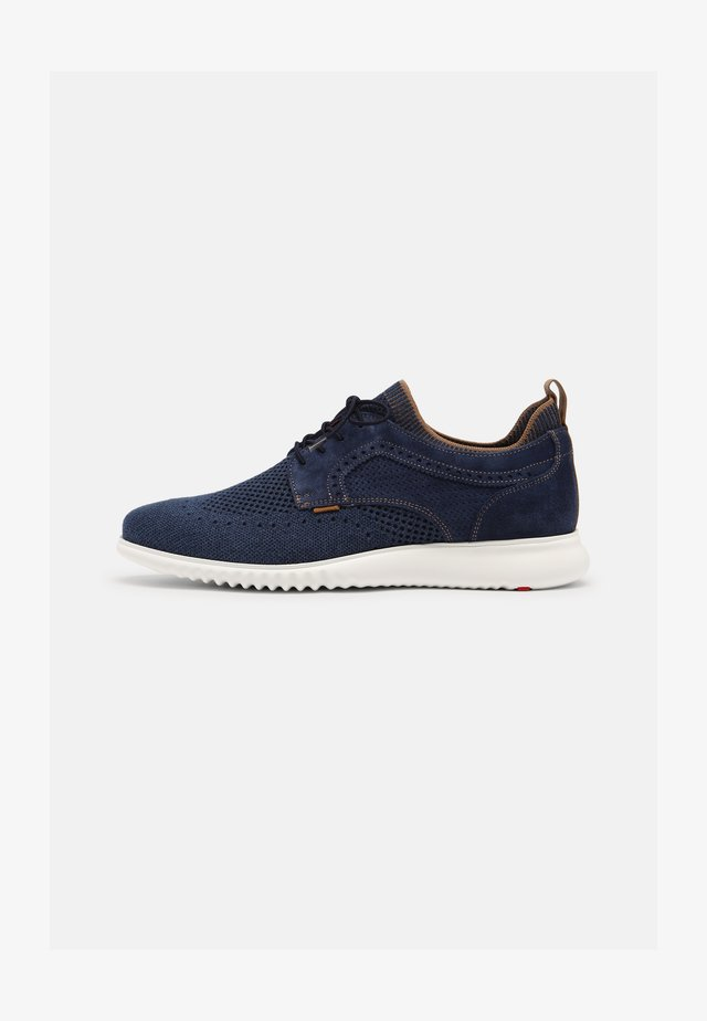 ANCONA - Zapatos con cordones - blue denim
