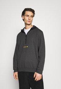 adidas Originals - FIELD HOODY - Hoodie - dark grey - 0