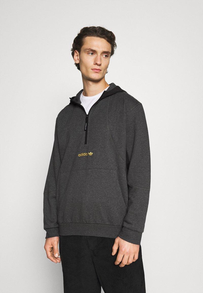 adidas Originals - FIELD HOODY - Hoodie - dark grey