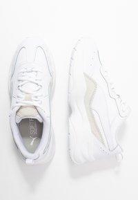 Puma - CILIA LUX - Trainers - white/ silver - 3