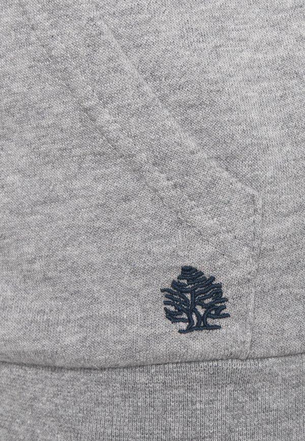 Springfield BASICA ABIERTA - Bluza rozpinana - medium grey/szary Odzież Męska SXBS