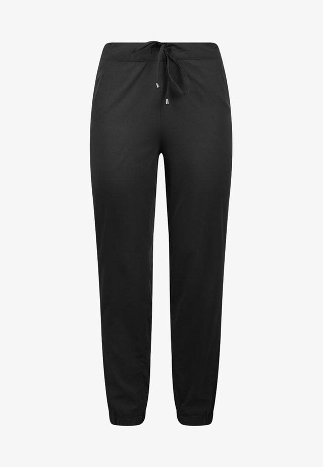 AMERIKA - Trousers - black