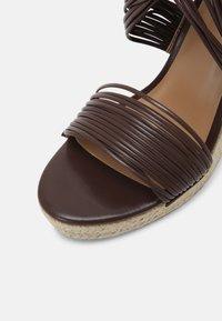 Even&Odd - Platform sandals - brown - 5