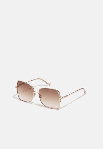 Sunglasses - shiny gold