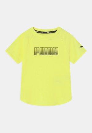 RUNTRAIN UNISEX - T-shirt con stampa - yellow