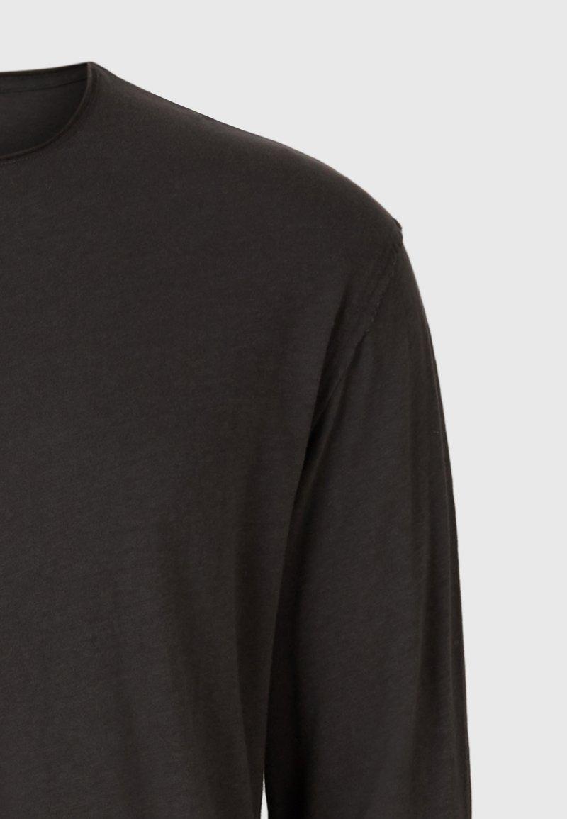 AllSaints FIGURE - Langarmshirt - black/schwarz hJvaDI