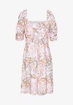 RANDY DRESS - Day dress - white/multi