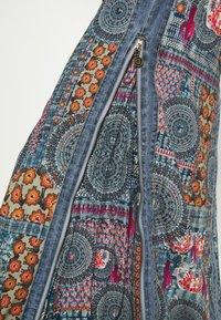 Desigual - Maxi skirt - blue - 5