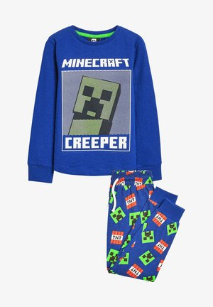 MINECRAFT PYJAMAS - Pyžamo - blue-grey