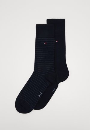 MEN SMALL STRIPE SOCK 2 PACK - Socks - dark navy